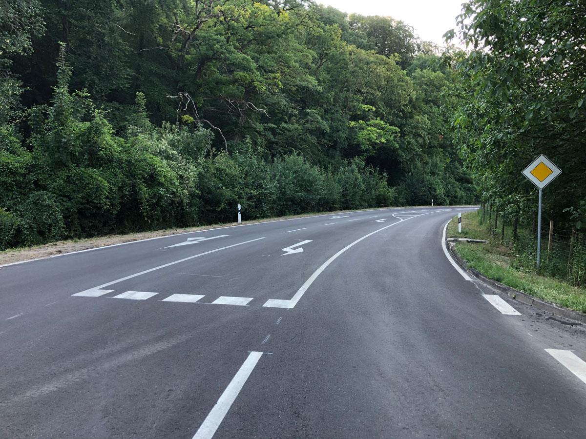 Fahrbahnerneuerung der L 115 zwischen Bötzingen und Oberbergen